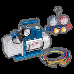 Оборудование, инструменты для промывки и обслуживания холодильной техники, кондиционеров и систем охлаждения