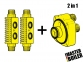 Набор промывочных адаптеров MASTER BOILER Adapters 2 в 1 (HE + CP) 4