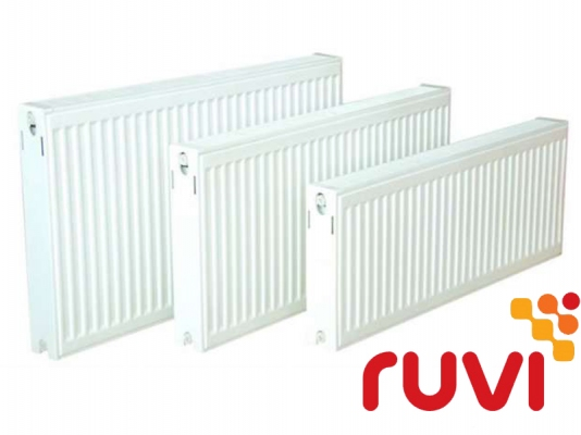 Стальной панельный радиатор Ruvi Standard 22 тип 600х500 мм (боковое подключение)