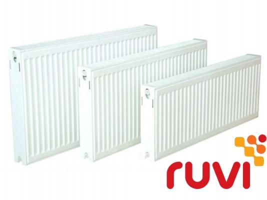 Стальной панельный радиатор Ruvi Standard 22 тип 600х2000 мм (боковое подключение)
