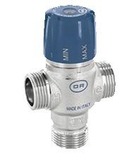 Регулируемый термостатический смесительный клапан OFFICINE RIGAMONTI 0518.025 1