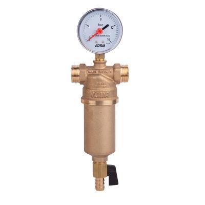 Самопромывной фильтр для воды ICMA 750 1
