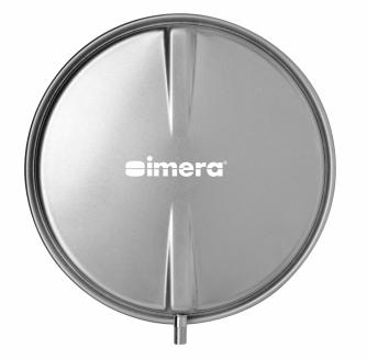 Расширительный бак для отопления IMERA VCP 387-8 л (плоский круглый)