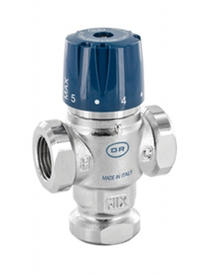 Регулируемый термостатический смесительный клапан OFFICINE RIGAMONTI 0518.315 1/2